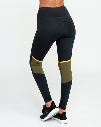 3 VA Levels Legging Green T301TRLE RVCA