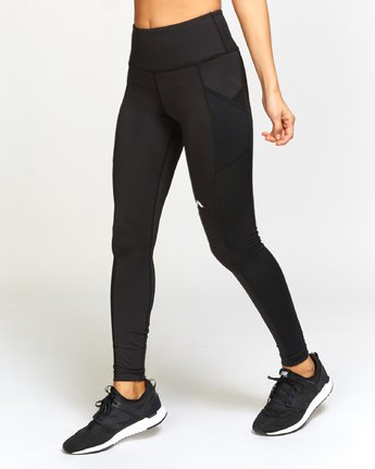 2 Atomic High Rise Legging Grey T302VRAT RVCA