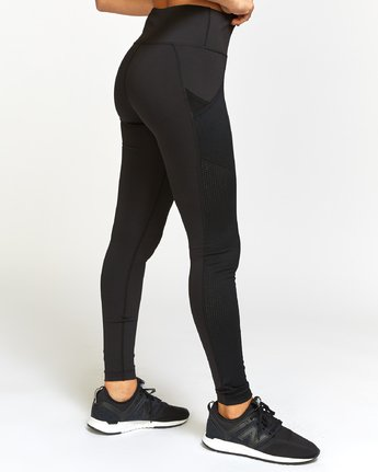 4 Atomic High Rise Legging Grey T302VRAT RVCA