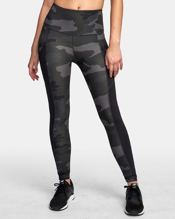 0 Atomic High Rise Legging Camo T302VRAT RVCA