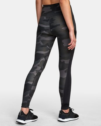 2 Atomic High Rise Legging Camo T302VRAT RVCA