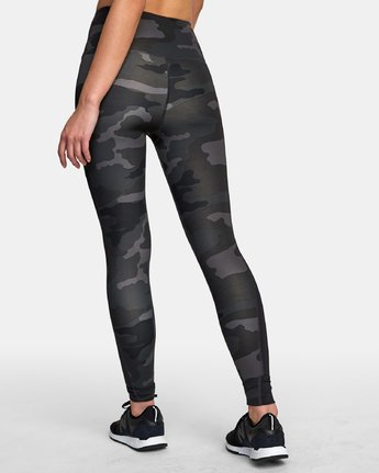 4 Atomic High Rise Legging Camo T302VRAT RVCA