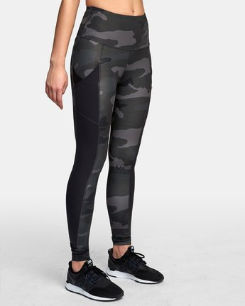 5 Atomic High Rise Legging Camo T302VRAT RVCA