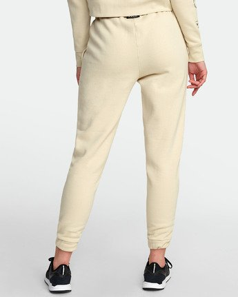 1 SPORT FLEECE SWEATPANT White T3071RSS RVCA