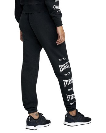 6 EVERLAST SPORT WORKOUT SWEATPANT Black T3081RES RVCA