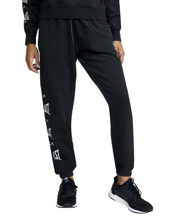 5 EVERLAST SPORT WORKOUT SWEATPANT Black T3081RES RVCA