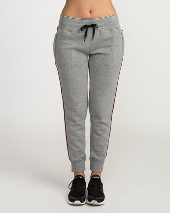 1 VA Guard Fleece Jogger Pants Grey T354QRGU RVCA
