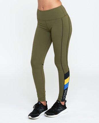1 VA Legging Green T372QRLV RVCA