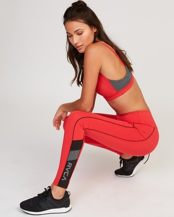 0 VA Legging Red T372QRLV RVCA