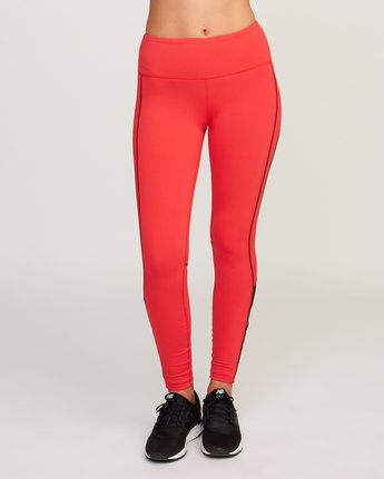 1 VA Legging Red T372QRLV RVCA