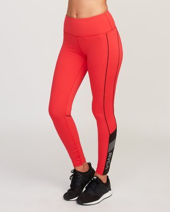 2 VA Legging Red T372QRLV RVCA
