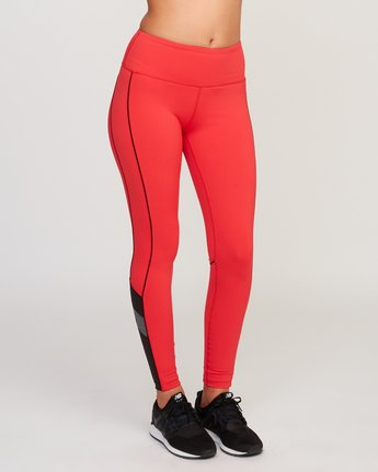 6 VA Legging Red T372QRLV RVCA