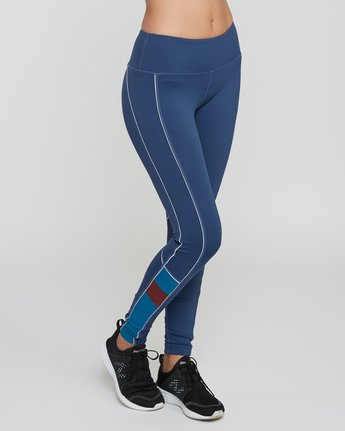 6 VA Legging Blue T372QRLV RVCA