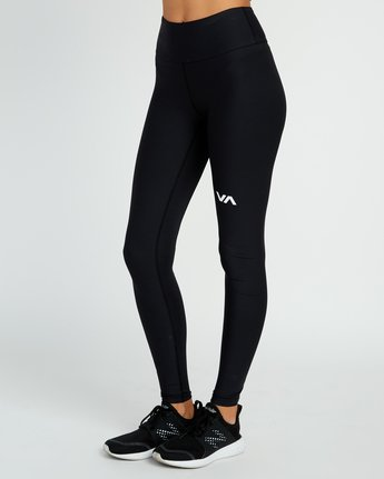 2 VA Performance Legging Black T373QRCL RVCA