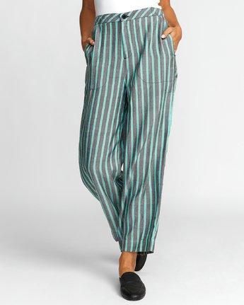 0 Colt - Pantalon pour Femme Vert T3PTRBRVS0 RVCA