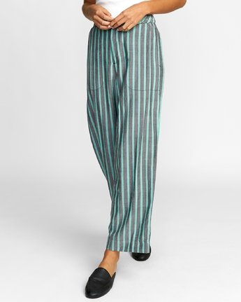 2 Colt - Pantalon pour Femme Vert T3PTRBRVS0 RVCA