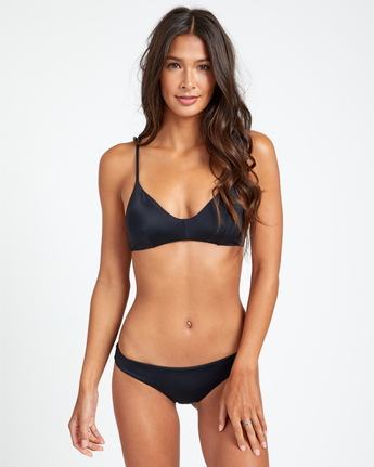1 Solid Cheeky - Bikini Bottoms for Women Black T3SBRSRVS0 RVCA