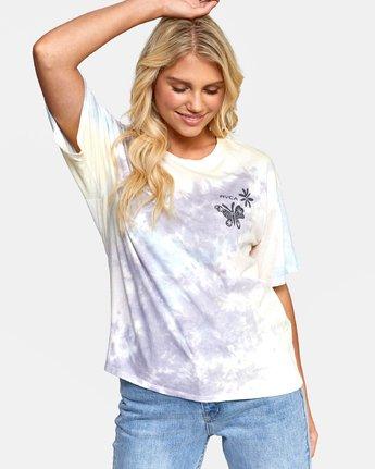 1 Michelle - T-shirt pour Femme Blanc T3SSRGRVS0 RVCA