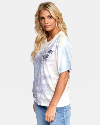2 Michelle - T-shirt pour Femme Blanc T3SSRGRVS0 RVCA
