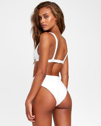 2 Salt Wash - Bralette Bikini Top for Women White T3STRJRVS0 RVCA