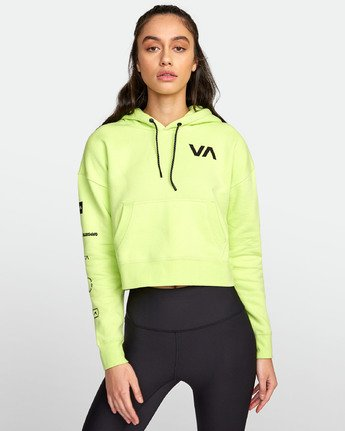 1 SPORT HOODIE Yellow T6031RCH RVCA