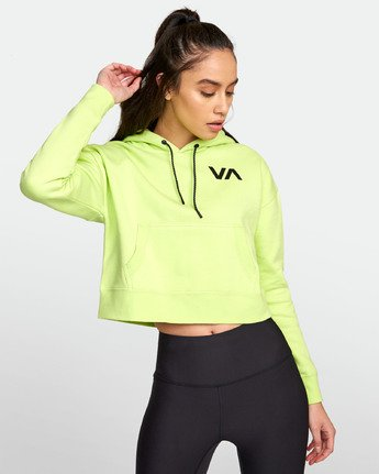 3 SPORT HOODIE Yellow T6031RCH RVCA
