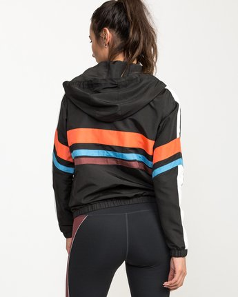 3 VA Team Jacket Multicolor T701QRTE RVCA