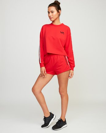 4 Ringside Sweatshirt Red T701URRS RVCA