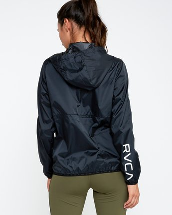 3 Hex Packable Windbreaker Jacket  T704TRHE RVCA