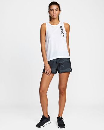 9 VA MUSCLE TANK TOP White T903WRVM RVCA