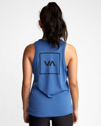 4 VA MUSCLE TANk TOP Blue T903WRVM RVCA