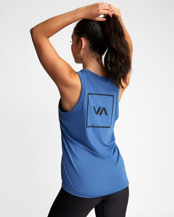 3 VA MUSCLE TANk TOP Blue T903WRVM RVCA