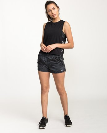 4 Rogue Tank Top Black T976QRRO RVCA