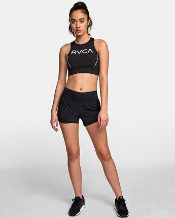 5 VA Longline Sports Bra Black TQ01WRLB RVCA