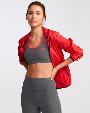 0 VA Takedown Sports Bra Grey TQ02TRTD RVCA
