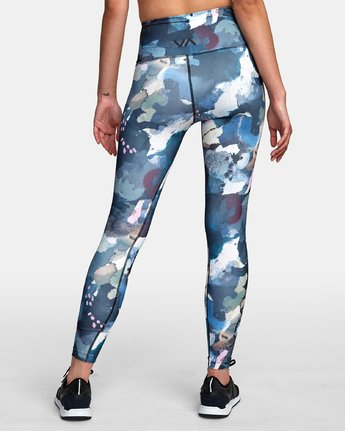 1 Sarah Delaney RVCA Sport High Rise Legging Multicolor TQ02WRRL RVCA