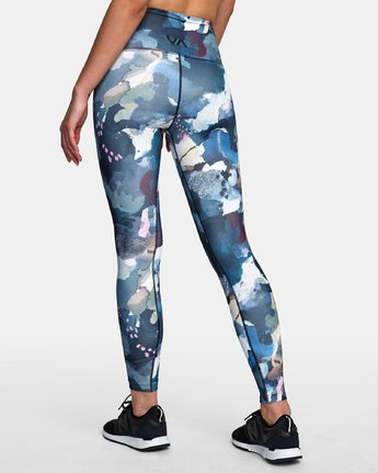 3 Sarah Delaney RVCA Sport High Rise Legging Multicolor TQ02WRRL RVCA