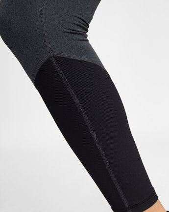 2 COMPRESSION LEGGING Black TQ041RCL RVCA