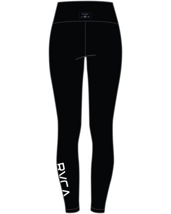 9 EVERLAST SPORT WORKOUT LEGGING Black TQ163REL RVCA