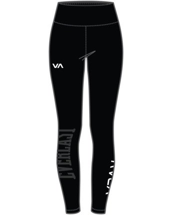 8 EVERLAST SPORT WORKOUT LEGGING Black TQ163REL RVCA