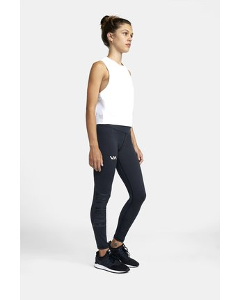 5 EVERLAST SPORT WORKOUT LEGGING Black TQ163REL RVCA