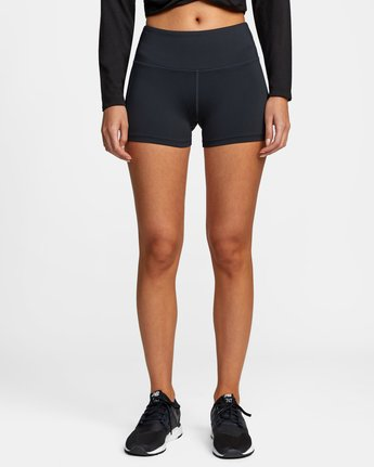 7 VA Fitted Short Black TQ51QRSH RVCA