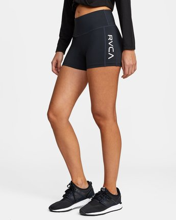 11 VA Fitted Short Black TQ51QRSH RVCA