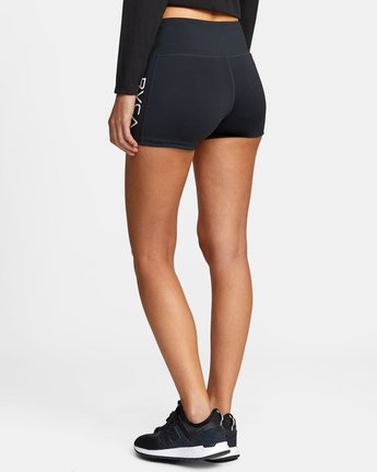 12 VA Fitted Short Black TQ51QRSH RVCA