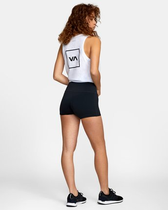 5 VA Fitted Short Black TQ51QRSH RVCA