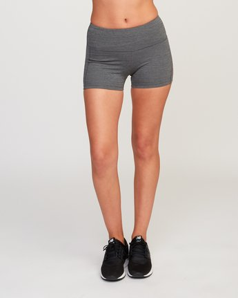 1 VA Fitted Short Grey TQ51QRSH RVCA
