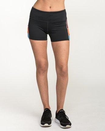 1 VA Fitted Short Multicolor TQ51QRSH RVCA