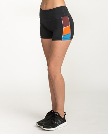 2 VA Fitted Short Multicolor TQ51QRSH RVCA