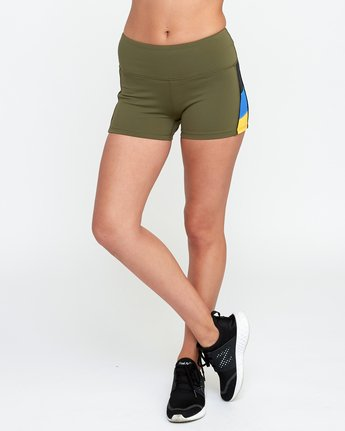 1 VA Fitted Short Green TQ51QRSH RVCA