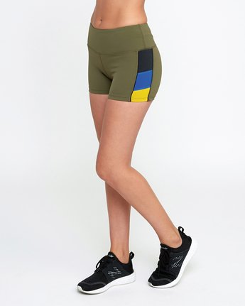 2 VA Fitted Short Green TQ51QRSH RVCA